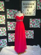 Dave & Johnny 002-8671 Designer Gown. PROM. PAGEANT. FORMAL. SPECIAL OCCASION.