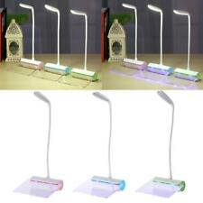 Adjustable LED Table Lamp w/ Message Board Study Desk Lamp Portable USB Charger