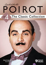 Agatha Christies Poirot: The Classic Collection - Set 4 (DVD, 2010, 3-Disc Set)