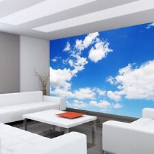 Fleece Photo Wallpaper no. 154 ! Sky wallpaper Clouds Romantic Holiday blue