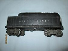 Lionel #6466WX or 2466W Whistling Tender. Whistle Works Well!