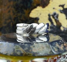 3 piece Sterling Silver Puzzle Ring in sizes 5, 6, 7, 8, 9