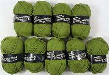 9 SKEINS VINTAGE DELUXE KNITTING WORSTED WOOL YARN (#6302)