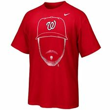 Washington Nationals Nike Bryce Harper MLB Hair-itage T-Shirt Men's Large XL 2XL