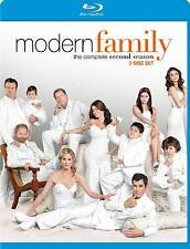Modern Family: The Complete Second Season 2 (Blu-ray Disc, 2011, 3-Disc Set) NEW
