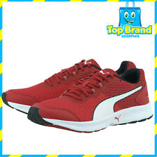 PUMA MENS SPORTS Barbados Cherry red white gym shoes joggers runners CHEAP deal