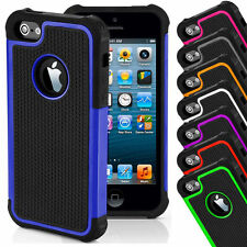 iPhone 6 6S Hybrid Shockproof Phone Case Cover Hard Dual Layer Silicone Apple