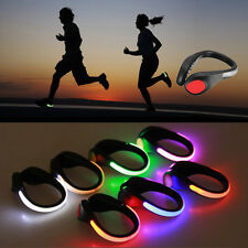 LED Luminous Shoe Clip Light Night Safety Running Sports Cycling Warning Light