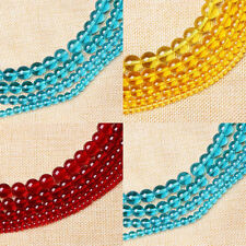 4mm 6mm 8mm 10mm 12mm DIY Glass Round Spacer Loose Beads Jewelry Making Strand