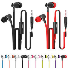 Mic Fashion Candy Color In-Ear Earphones Super Bass Headphones Stereo Headset WZ