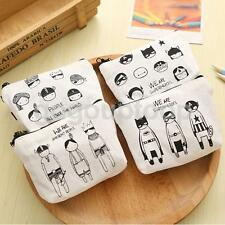 Fashion Canvas Change Purse Coin Purse Bag Wallet Handbag Gift