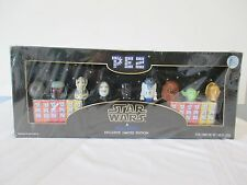 Star Wars Exclusive Limited Edition Pez Set New In Sealed Box
