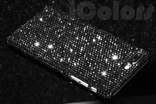 Black Crystal Bling Diamond Case Cover For iPhone 7 8 Plus W/H SWAROVSKI Element