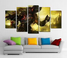 Framed Wall Canvas Art - Dark Souls 3 Video Games Canvas Art Print