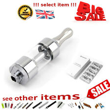 Glass CLEAR ATOMIZER .CLEAROMIZER .ATOMISER CLEAROMISER TANKS SHISHA 510