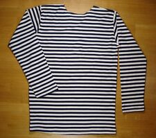 USSR RUSSIAN NAVY SAILOR'S AUTUMN SPRING STRIPED T-SHIRT TELNYASHKA AUTHENTIC