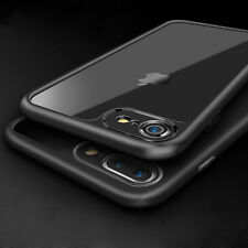 Thin [Crystal Clear] Shockproof TPU Gel Bumper Back Case Cover for iPhone 7 Plus