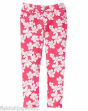 NWT GYMBOREE Pretty Poppy Floral PONTE PANTS 3T,6,7,8 Girls Pull on Jeggings