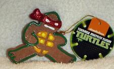 TEENAGE MUTANT NINJA TURTLES tmnt Raphael Gingerbread CHRISTMAS ORNAMENT New