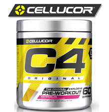 CELLUCOR C4 ORGINAL New Extreme 60 Servings / 390g Pre Workout Explosive Energy!