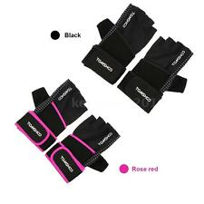 Unisex Weight Lifting Gloves Fitness Gloves with Wrist Wrap Anti-slip Grip H2P8