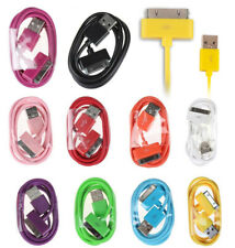 USB Data Sync Charger Cable Cord For Apple iPhone 4s 4 3GS iPod Touch iPad 3.3ft