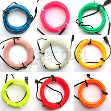 7.5ft el wire with battery inverter - D0.9 inch neon wire