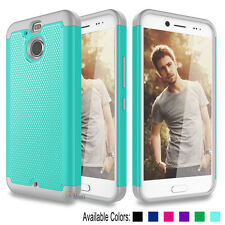 For HTC Bolt HTC 10 Evo Case Hybrid Rugged Rubber Matte Impact Defender Cover