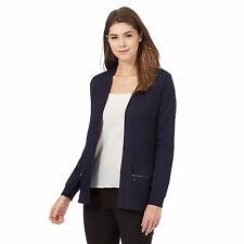The Collection Womens Navy Ribbed Cardigan From Debenhams