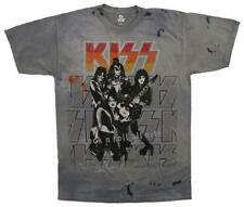 KISS - Rock N Roll All Nite T-Shirt Tie Dye New Shirts Tee