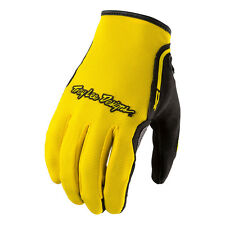 Troy Lee Designs XC All-Purpose Riding Gloves - YELLOW / Mens Small-2XL