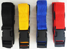 PAIR OF 40MM WIDE GOLF TROLLEY WEBBING straps POWAKADDY straps Quick Release
