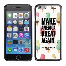 Hard Phone Case Cover Skin For Apple 567 Trump America drawing ice-cream