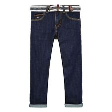 J By Jasper Conran Kids Boys' Dark Blue Belted Jeans From Debenhams