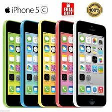 "Apple iPhone 5C/4S-8GB 16GB 32GB LTE GSM ""Factory Unlocked"" Smartphone A+ Grade"