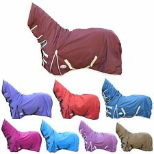 Horse Winter Breathable Waterproof 350G Turnout Heavyweight Full Neck Rug