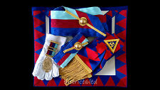 masonic regalia-ROYAL ARCH PROVINCIAL CHAPTER COMPLETE PACKAGE (LAMBSKIN) NEW