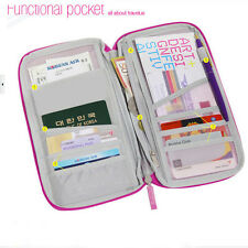 Travel Wallet Passport Holder Card Organizer Bag for iPhone 7 Case Pouch Tag