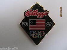 Kellogg's Team USA Olympic Lapel Pin 2014