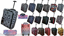 Lightweight Hand Luggage Wheeled Travel suitcase Trolley Cabin Case Bag Easyjet