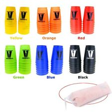 12 Sport Cups Stacks Stacking Flying 6 Colors School Fun ds25