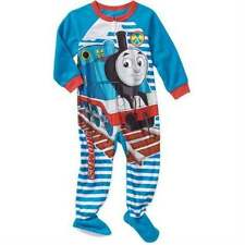 NEW! BOYS TODDLER ◉ THOMAS THE TRAIN TANK Blanket ◉ Sleeper Pajamas, 4T,