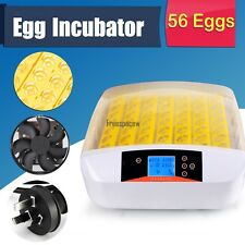 12/56 Egg Automatic Incubator Digital Hatching Chicken Temperature Control FPAW