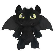 "How to Train Your Dragon Plush Toothless Night Fury Soft Toy Doll Teddy 12"" HOT"