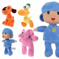 Pocoyo Elly Pato Loula Plush Character Figures Stuffed Toys Doll Kid Gift
