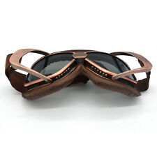 Aviator Pilot Retro Vintage Motorcycle Goggles Cafe Racer Flying Eyewear Copper