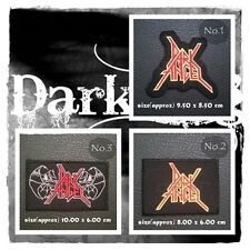 Dark Angel Patch Sew Iron On Embroidered Rock Band Thrash Metal Heavy Applique