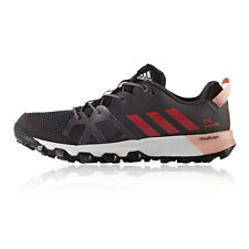 Adidas Kanadia 8 Womens Black Sneakers Running Road Sports Shoes Trainers Pumps