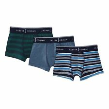 J By Jasper Conran Kids Pack Of Three Boys' Assorted Plain And Striped Trunks