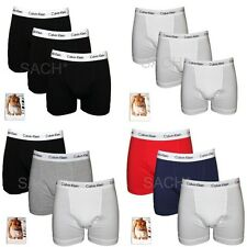 CALVIN KLEIN 3 PACK BOXER TRUNKS UNDERWEAR 100% AUTHENTIC RRP £36.00